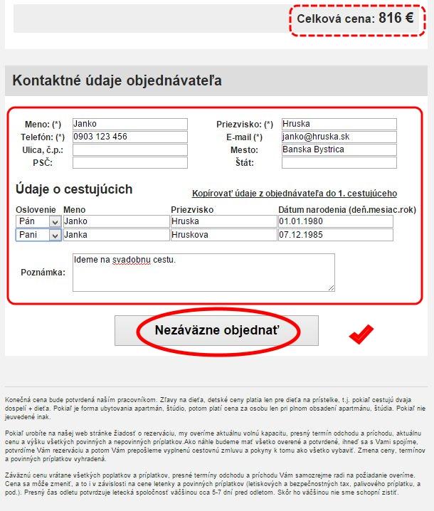 85f545ac7e2a Kontaktné údaje k objednávke
